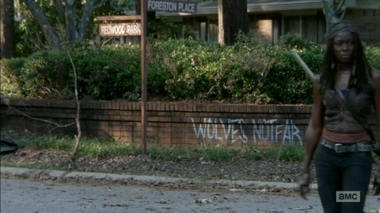 The Walking Dead Wolves Not Far