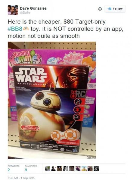 bb8 target exclusive