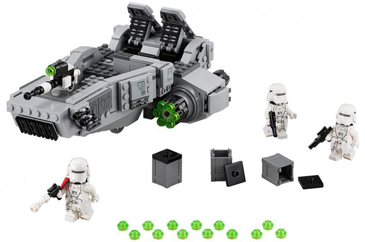 first order snowspeeder lego 1