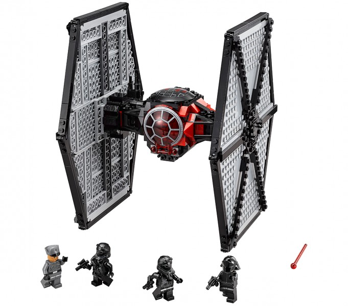 first order tie fighter lego 1