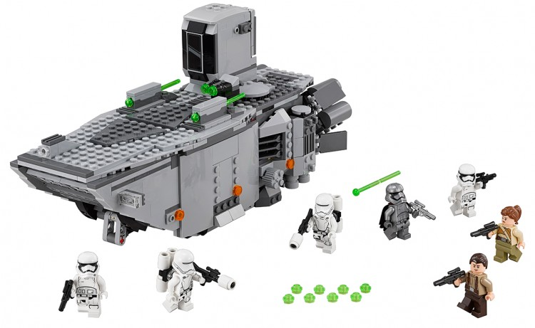 first order transporter lego 1