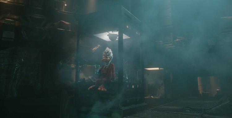 Marvel's Guardians Of The Galaxy Howard the Duck (voiced by Seth Green) Ph: Film Frame ©Marvel 2014