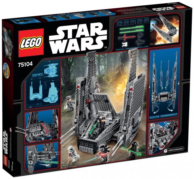 kylo ren shuttle lego 0b