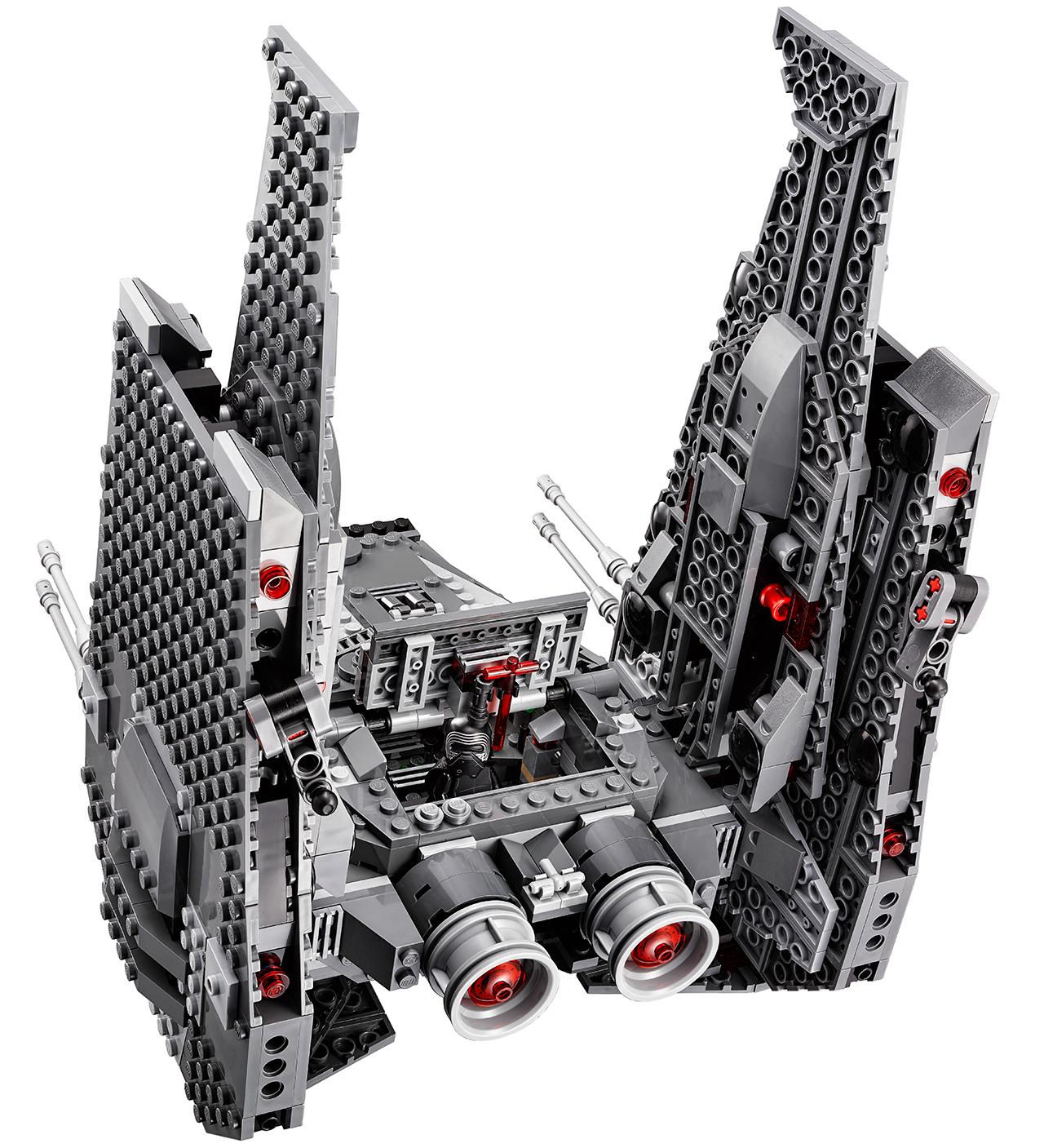 kylo ren space shuttle lego - photo #8