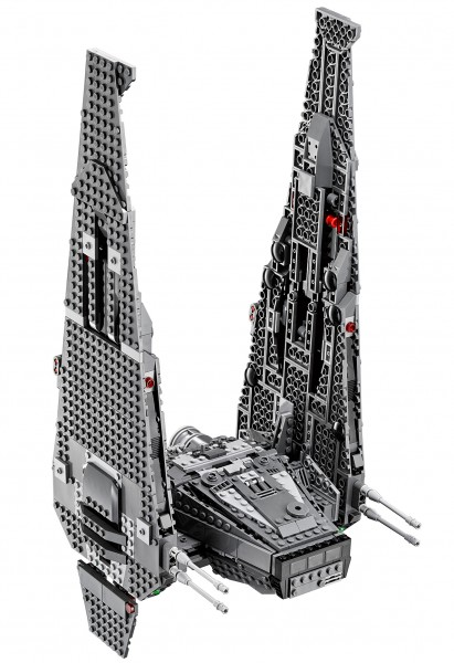 kylo ren shuttle lego 6