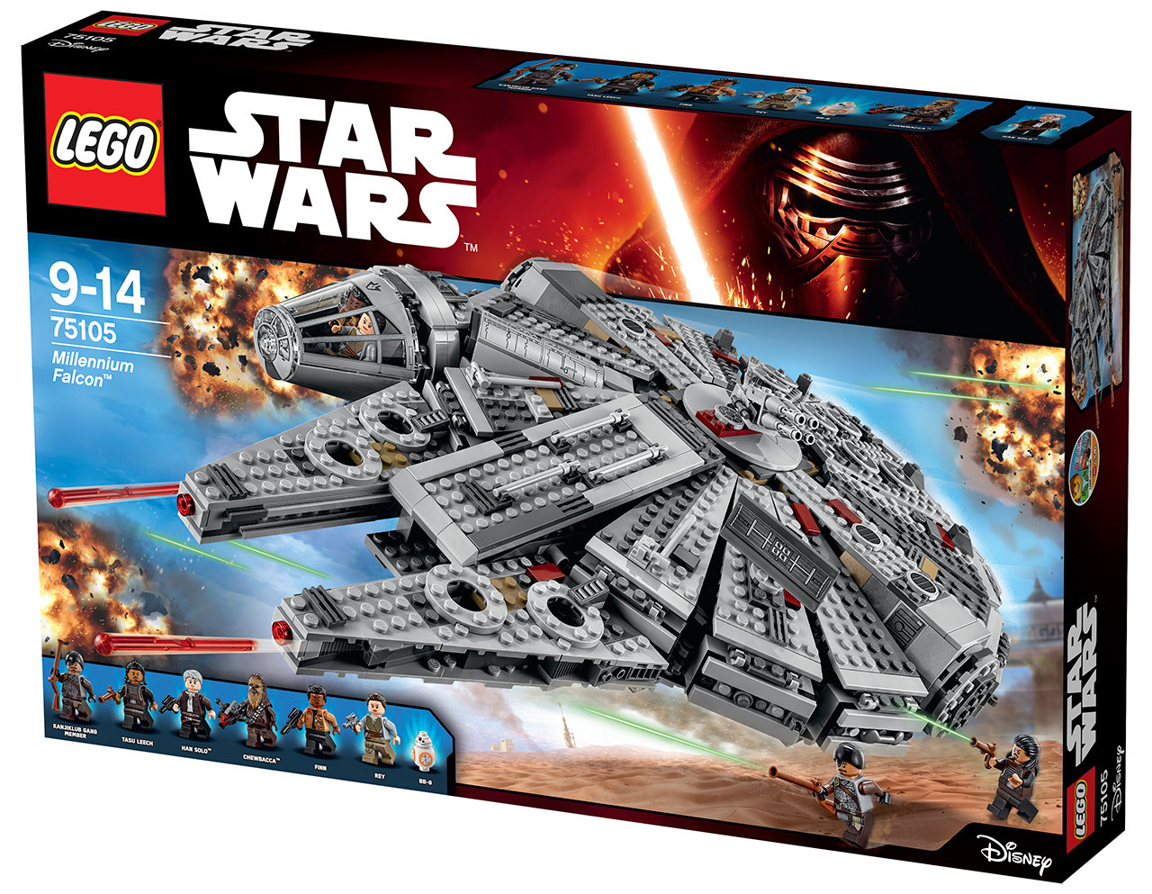 lego falcon 0a Hereu0027s Every Star