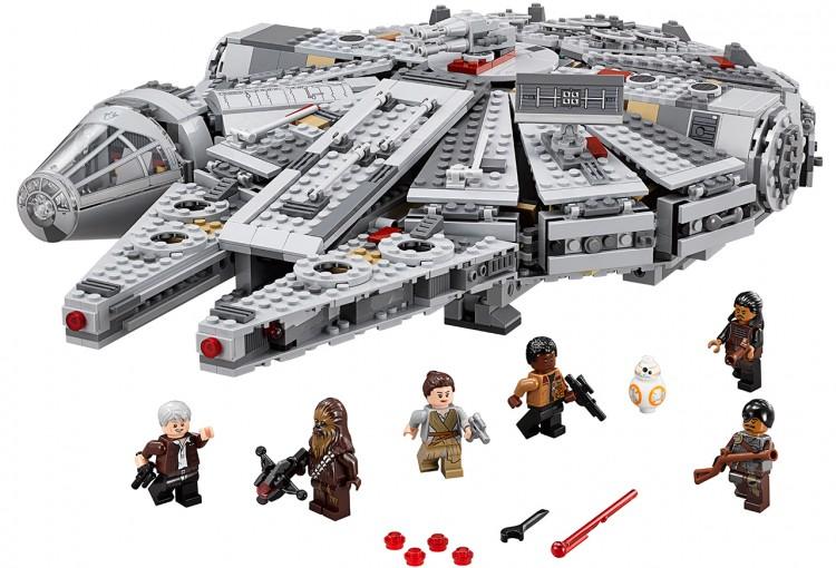 lego falcon 1