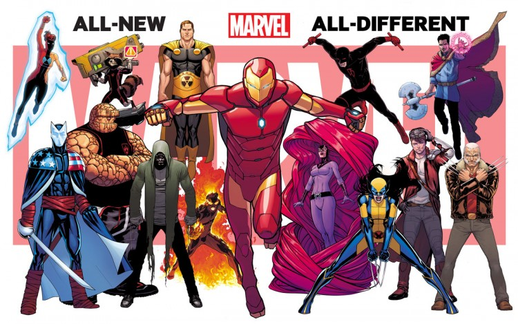 marvel all new all different