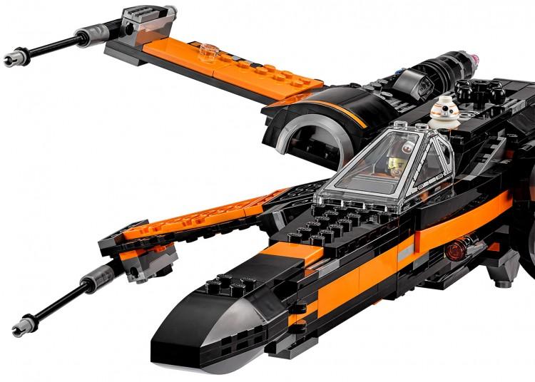 poe x-wing lego 8