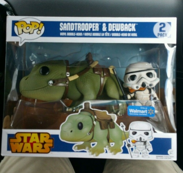 walmart exclusive dewback sandtrooper