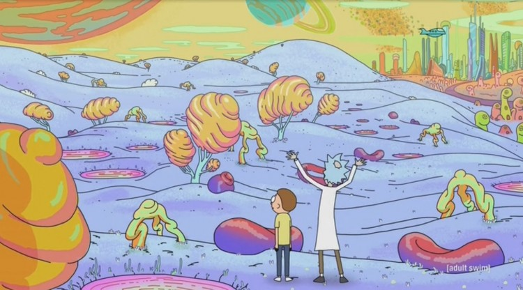 rick and morty - dimension 35c