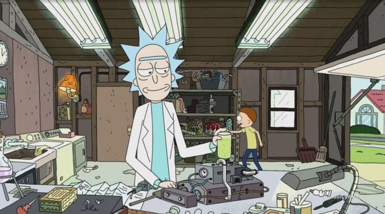 rick and morty - ionic defibulizer