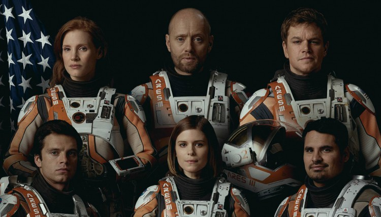 the martian ares mission crew