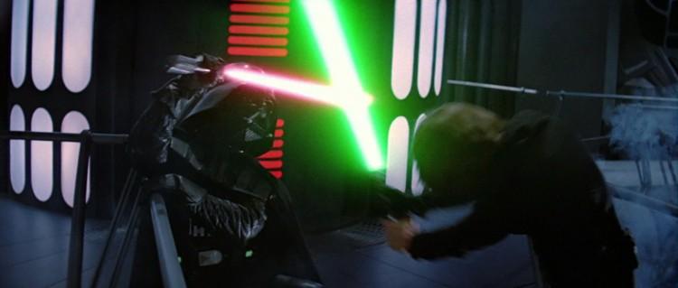 Luke vader fight