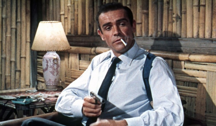 Dr. No (1962 British) Directed by Terence Young Shown: Sean Connery (as James Bond)