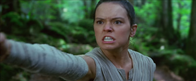 Rey angry
