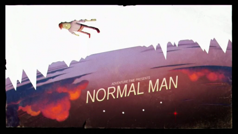 """titlecard for the episode """"Normal Man"""""""