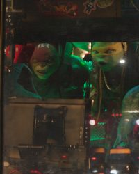 Left to right: Leonardo and Raphael, Michelangelo and Donatello in Teenage Mutant Ninja Turtles: Out of the Shadows from Paramount Pictures, Nickelodeon Movies and Platinum Dunes