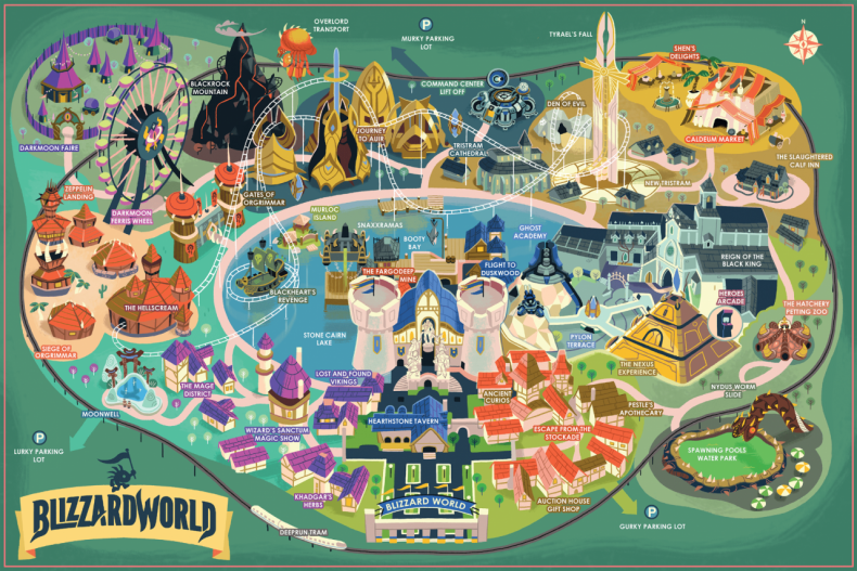Limited edition blizzard world park maps are on sale overmental limited edition blizzard world park maps are on sale gumiabroncs Gallery